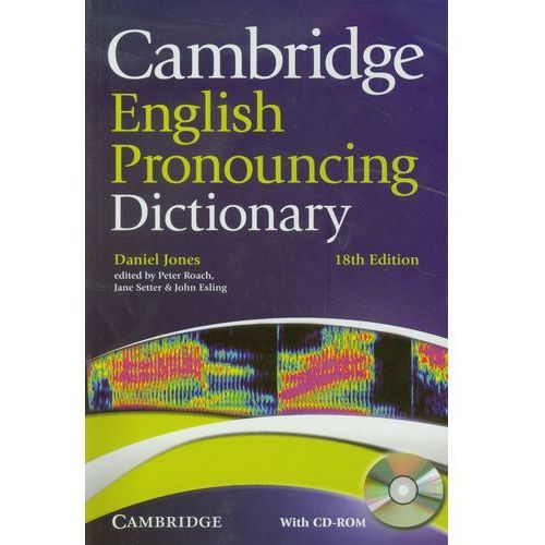 Cambridge English Pronouncing Dictionary + CD (580 str.)