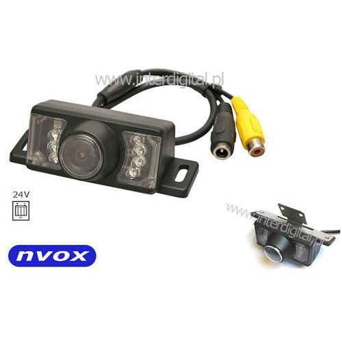 Nvox Samochodowa kamera cofania wodoszczelna noktowizja 24v