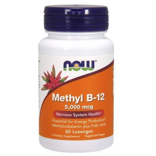 Methyl B-12 5000mcg (5mg) 60kaps Metylokobalamina + Kwas foliowy (artykuł z kategorii Witaminy i minerały)