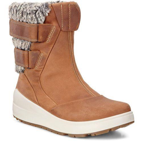 noyce kozaki kobiety brązowy 37 2018 buty casualowe marki Ecco