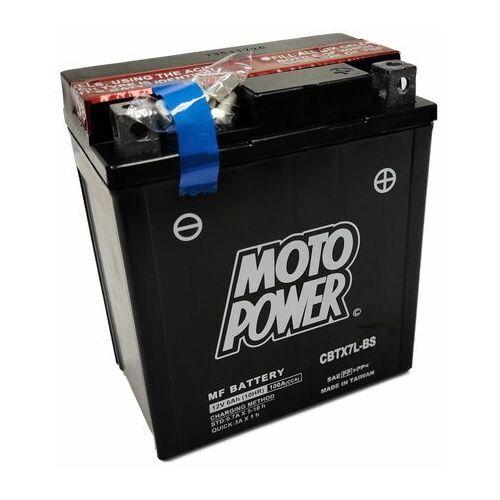 Akumulator motocyklowy moto power cbtx7l-bs ytx7l-bs 12v 6ah 100a en p+ marki Yuasa