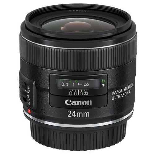Canon 24 mm f/2.8 EF IS USM - Cashback 300 zł przy zakupie z aparatem!, 5345B005