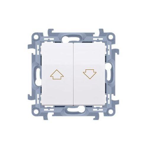 Simon 10 łącznik żaluzjowy (moduł) 10a, 250v~, zaciski śrubowe; biały czw1.01/11 marki Kontakt simon