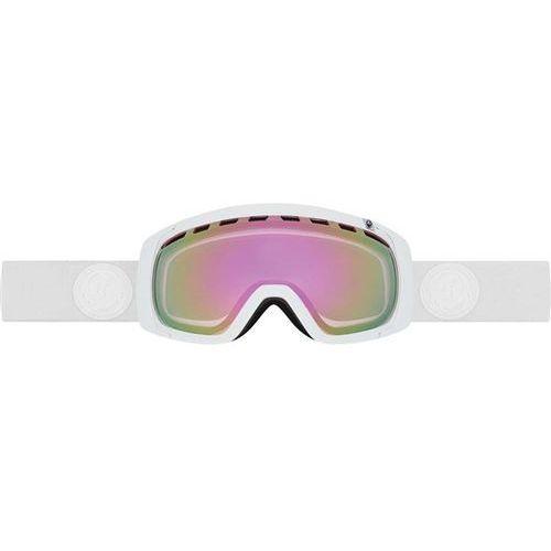gogle snowboardowe DRAGON - Rogue - Whiteout/Pink Ion + Ionized (144) rozmiar: OS