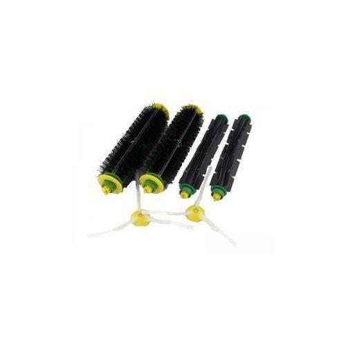 Zestaw szczotek iRobot Roomba 2 szczotki główne, 2 szczotki główne gumowe, 2 wirujące szczotki boczne
