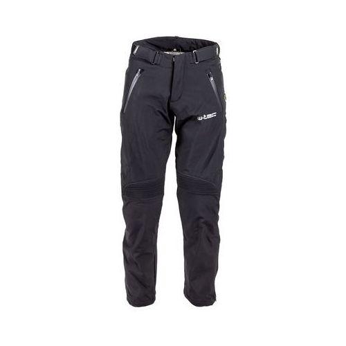 Męskie spodnie motocyklowe soft-shell nf-2801, czarny, xxl marki W-tec