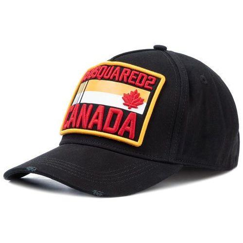 Dsquared2 Czapka z daszkiem - patch cargo baseball caps bcm0237 05c00001 2124 black