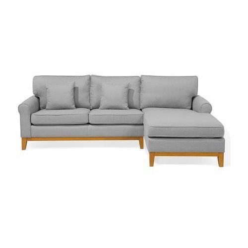 Narożnik jasnoszary - kanapa - sofa - narożna - wypoczynek - NEXO