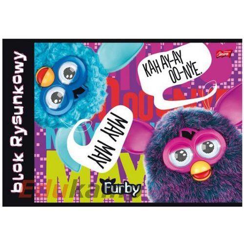 Blok biurowy MAJEWSKI Blok rysunkowy A4 20k Furby - 5903235170553 Darmowy odbiór w 19 miastach!