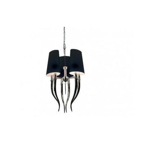 diablo 3 az1345 ad 8074-3 bk lampa wisząca zwis 6x11w e14 czarna - negocjuj cenę marki Azzardo