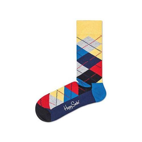 argyle skarpetki niebieski 36-40 marki Happy socks