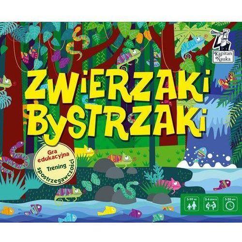 Gra edukacyjna zwierzaki bystrzaki marki Edgard