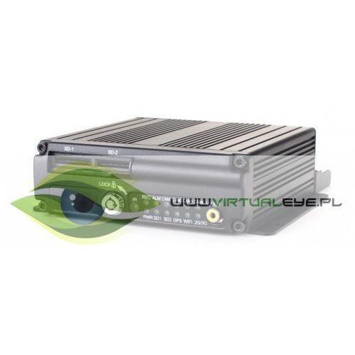 Profesjonalny rejestrator samochodowy mdvr cw1003-w (gps, 3g, g-sensor) marki Virtualeye