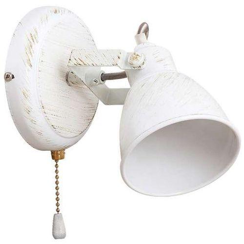 Rabalux Kinkiet lampa ścienna vivienne 5966 industrialna oprawa regulowany reflektorek retro biały (5998250359663)