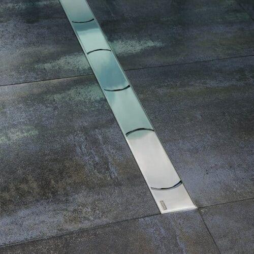 Ravak chrome odpływ liniowy 105 cm nierdzewny x01429 (8592626000295)