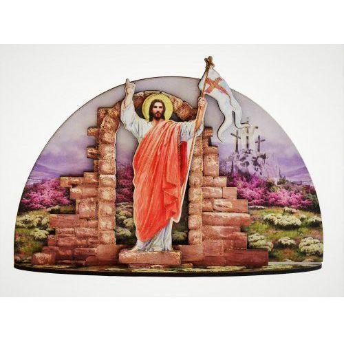 Drewniana grota ze Zmartwychwstałym Chrystusem, UP110SW