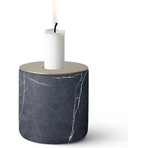 Menu Świecznik chunk of marble l ciemny mosiądz (5709262971381)
