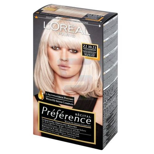 Recital preference farba do włosów z2 10,21 stokholm - marki L'oreal paris