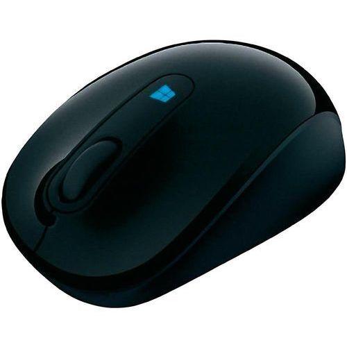 Mysz bezprzewodowa, Microsoft 43U-00003, Optyczny, 2400 dpi, Radiowa, czarny
