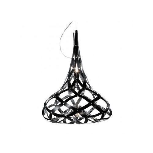 Slamp Lampa wisząca super morgana mirror/black