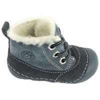 buty chłopięce za kostkę 23 niebieskie marki Primigi