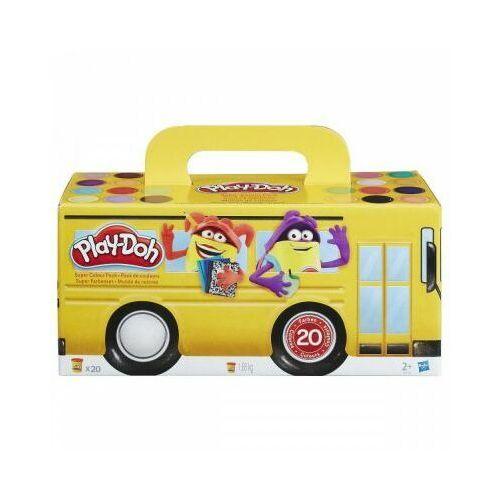 Hasbro playdoh kolorowy autobus
