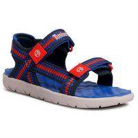Sandały TIMBERLAND - Perkins Row Webbing Sndl TB0A1NILJ45 Bright Blue Webbing, kolor niebieski
