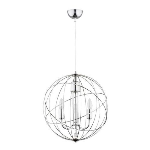 Lampa wisząca Pikio 3 x 40 W E14 chrom, 62021
