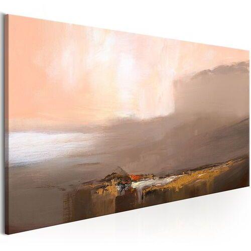 Obraz - kres nieskończoności (1-częściowy) brązowy szeroki marki Artgeist
