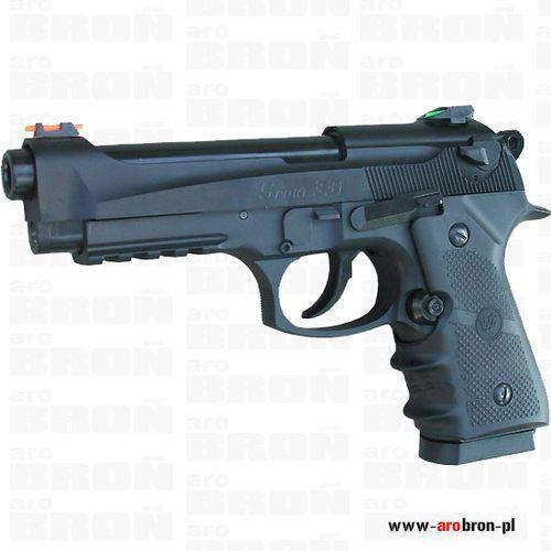 Pistolet wiatrówka Beretta 90TWO Wingun Sport 331 Blow-Back - kal. 4.5mm, śrut BB, CO2 z kategorii Amunicja do wiatrówek