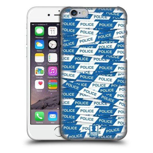 Etui plastikowe na telefon - warning tape blue police line wyprodukowany przez Head case