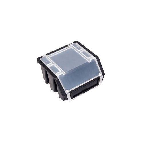 Mały Pojemnik Magazynowy Warsztatowy Ergobox 2 czarny plus Patrol (5901238224600)