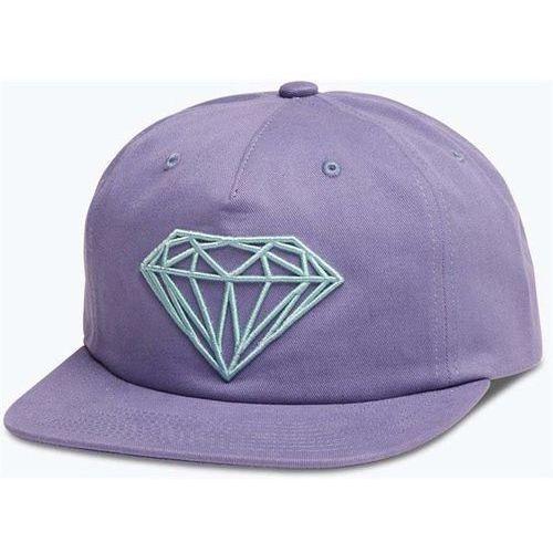 Czapka z daszkiem - brilliant unconstructed sb purple (pur) rozmiar: os marki Diamond