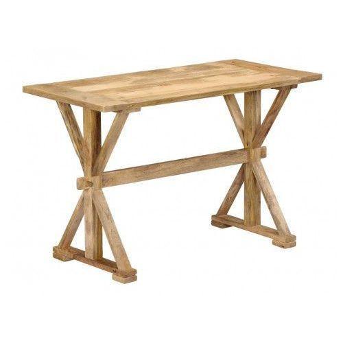 Stół z drewna mango Wadas 2X – jasnobrązowy