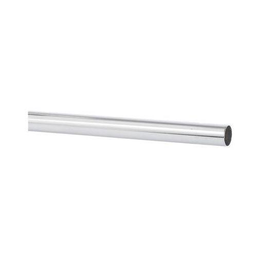 Drążek do karnisza 250 cm chrom 20 mm metalowy INSPIRE