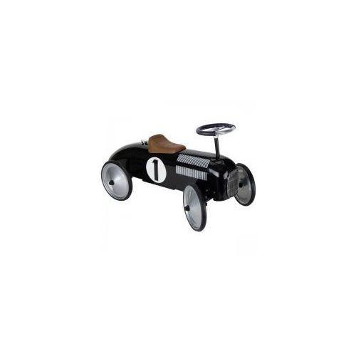 Goki Czarny jeździk retro metalowy,