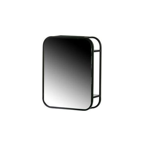 Woood Lustro 45x35 cm 370119-Z, kolor czarny