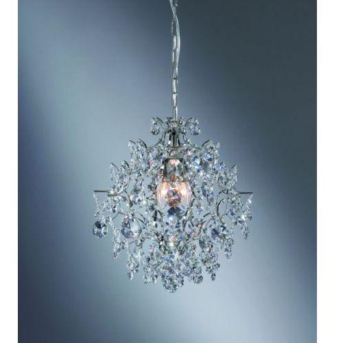 Żyrandol kryształowy rosendal chrom bzl, 100525 marki Markslojd