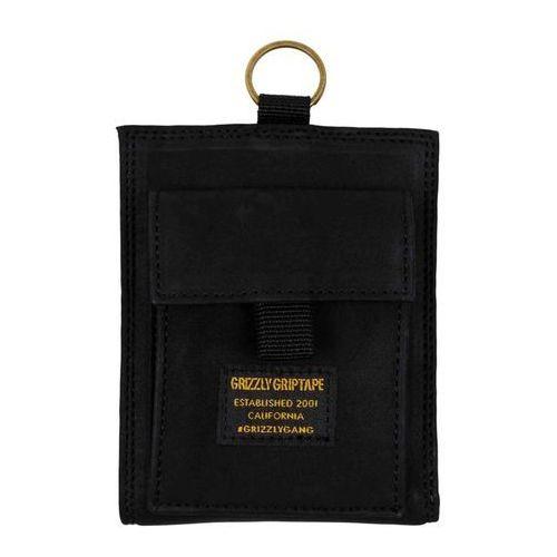 portfel GRIZZLY - Ggc Wallet Black (BLACK)