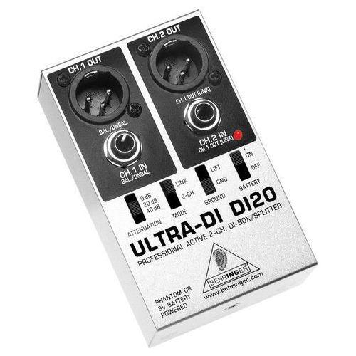 BEHRINGER ULTRA-DI DI20 - produkt z kategorii- Pozostałe audio