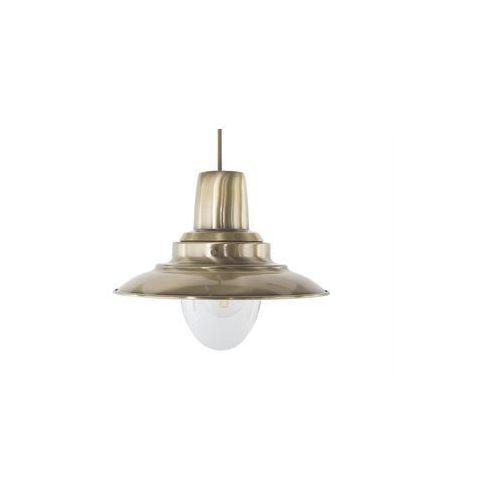 Lampa wisząca metalowa mosiężna PINEGA (4260624111728)