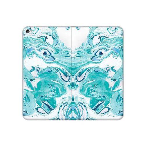 etuo Flex Book Fantastic - Apple iPad Air 2 - etui na tablet Flex Book Fantastic - niebieski marmur, kolor niebieski