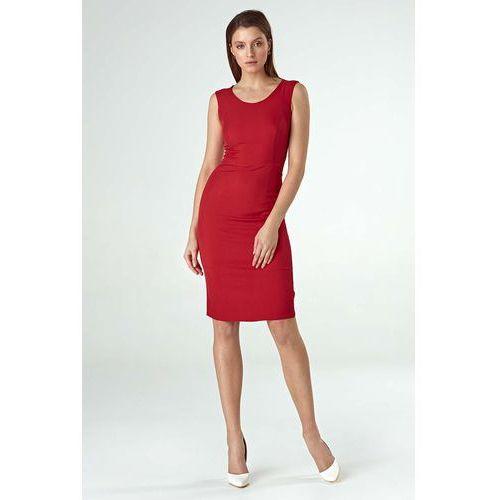 893b8dae36 Czerwona Szykowna Sukienka Ołówkowa o kr... Producent Nife  Rodzaj  ołówkowa  Długość midi