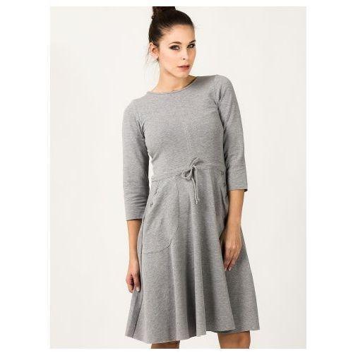 Tessita Sukienka sukienka model ilona 1 light grey