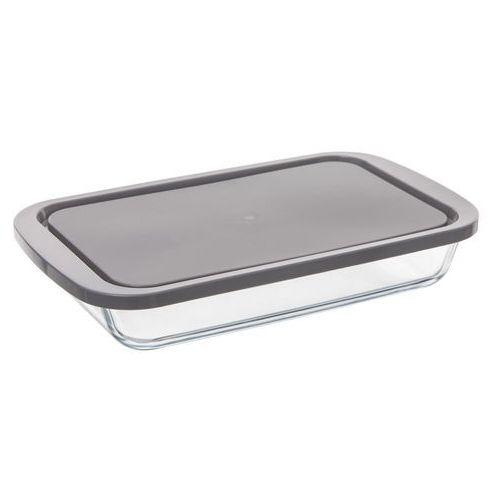 Secret de gourmet Higieniczny szklany pojemnik do przechowywania żywności o wymiarach 29 x 18 cm ze szczelną pokrywką rect glass mould (3560239694113)