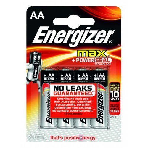 Energizer  baterie max + powerseal technology aa e91/ 4szt