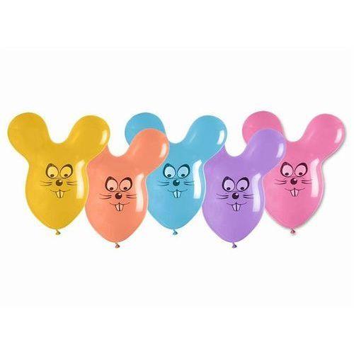 Gemar Balony kształty myszki mix kolorów - 5 szt. (5907509904639)