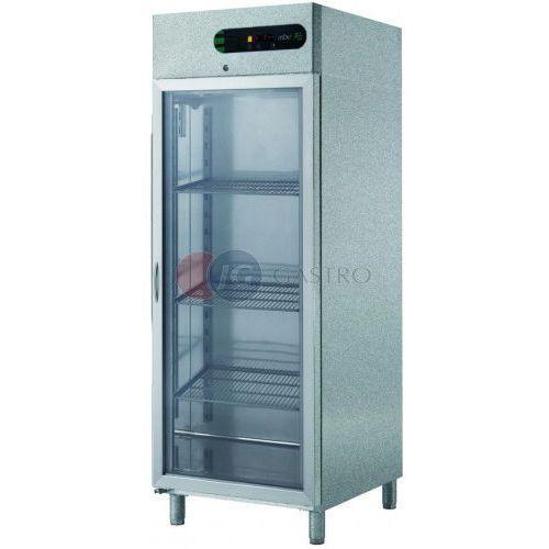 Szafa chłodnicza 1-drzwiowa przeszklona 700 l ecp-g-701 l glass marki Asber