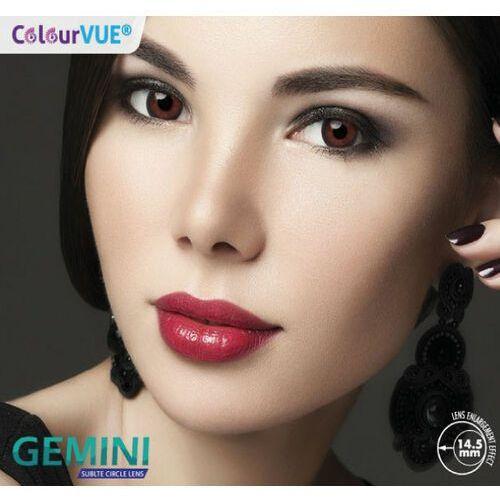 Colourvue gemini 14,5 mm + płyn 360ml marki Maxvue vision