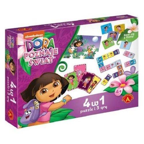 Dora poznaje świat 4 w 1 - Jeśli zamówisz do 14:00, wyślemy tego samego dnia. Darmowa dostawa, już od 99,99 zł.
